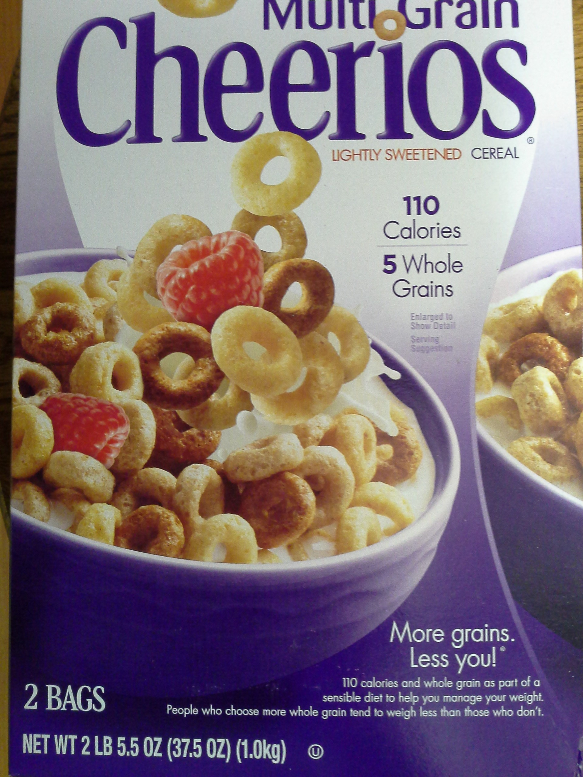 Multi-grain Cherrios from Costco
