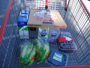 Saturday's cart
