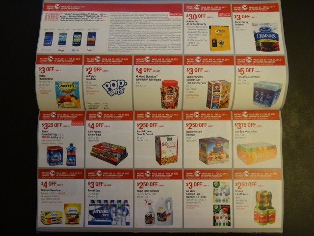 Costco February 2013 Coupon Book