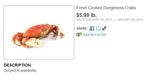 Cooked Dungeness Crab – Is it cheaper at Costco?