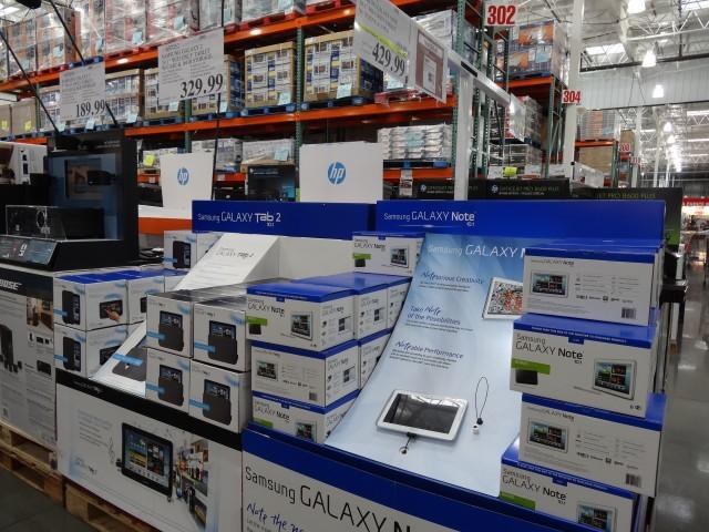 Samsung Tablets at Costco