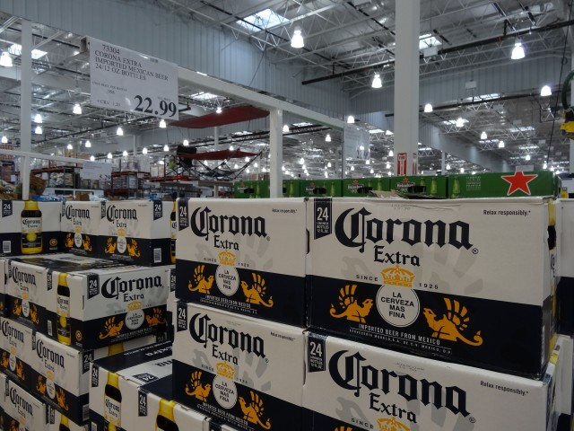 Corona Beer at Costco