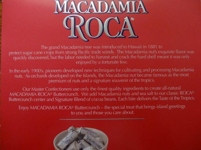 Macadamia Roca box