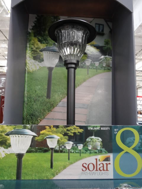 solar pathway lights costco - Solar Pathway Lights
