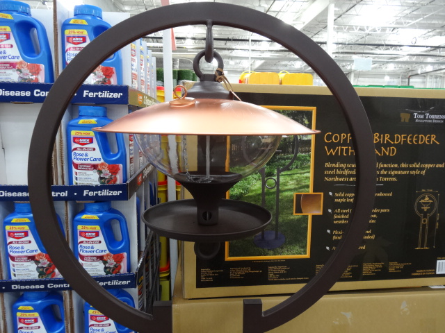 Bird feeder at Costco