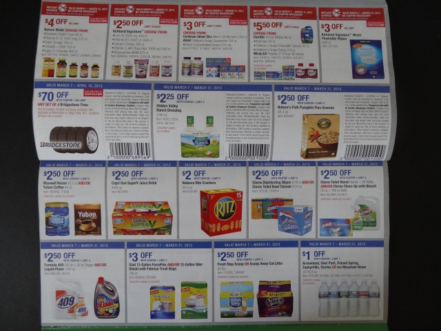 Costco March Coupon Book