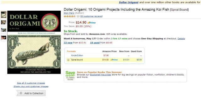 dollar-origami-book-amazon
