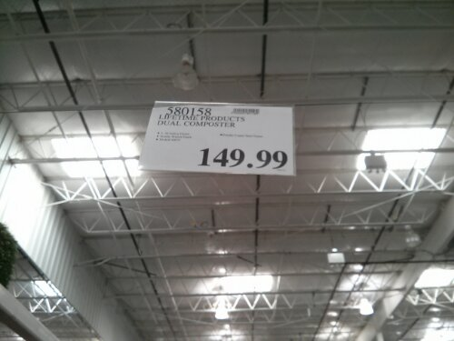 Lifetime Dual Composter at Costco