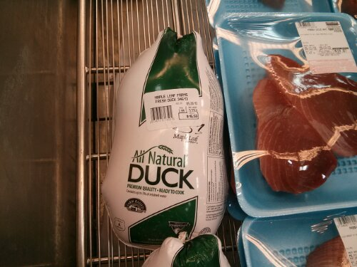 Maple Leaf Farms duck at Costco