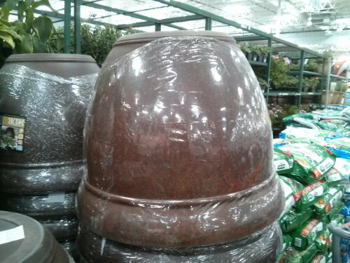 "22"" Burlwood Planter Costco"