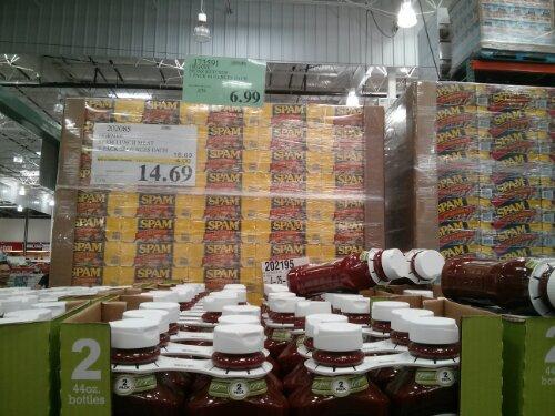 Organic ketchup at Costco