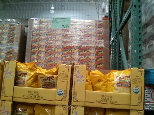 Organic Flax Seed at Costco