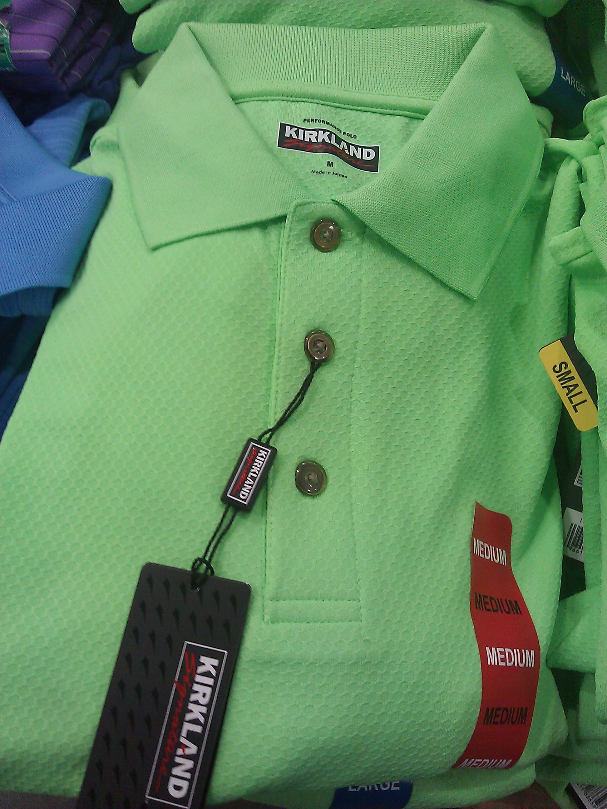 Kirkland Signature Golf Polo Shirts Costco