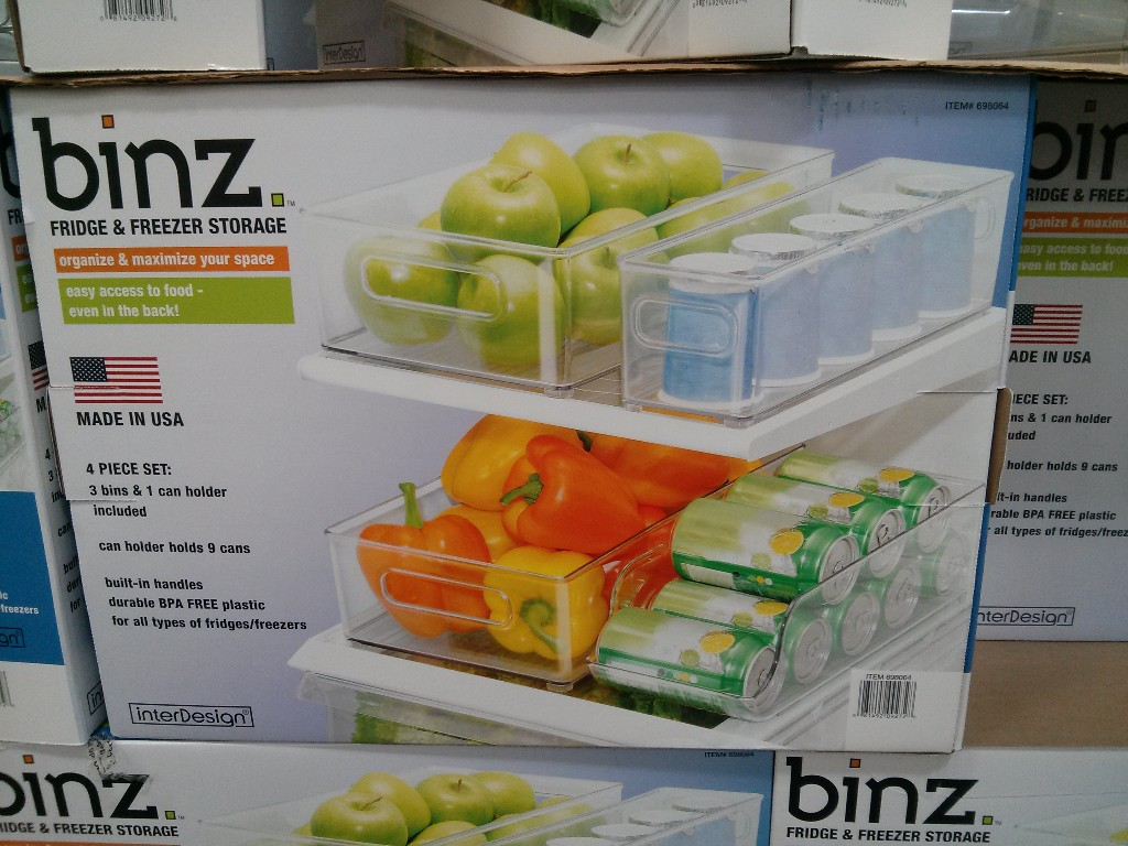Binz Fridge and Freezer Storage Costco