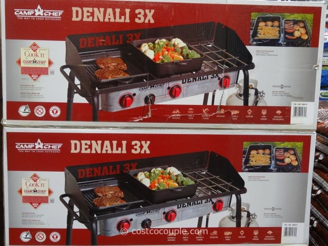 Camp Chef Denali 3X Camping Stove Costco 1
