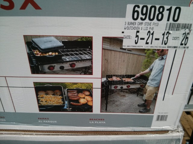 Camp Chef Denali 3X Costco