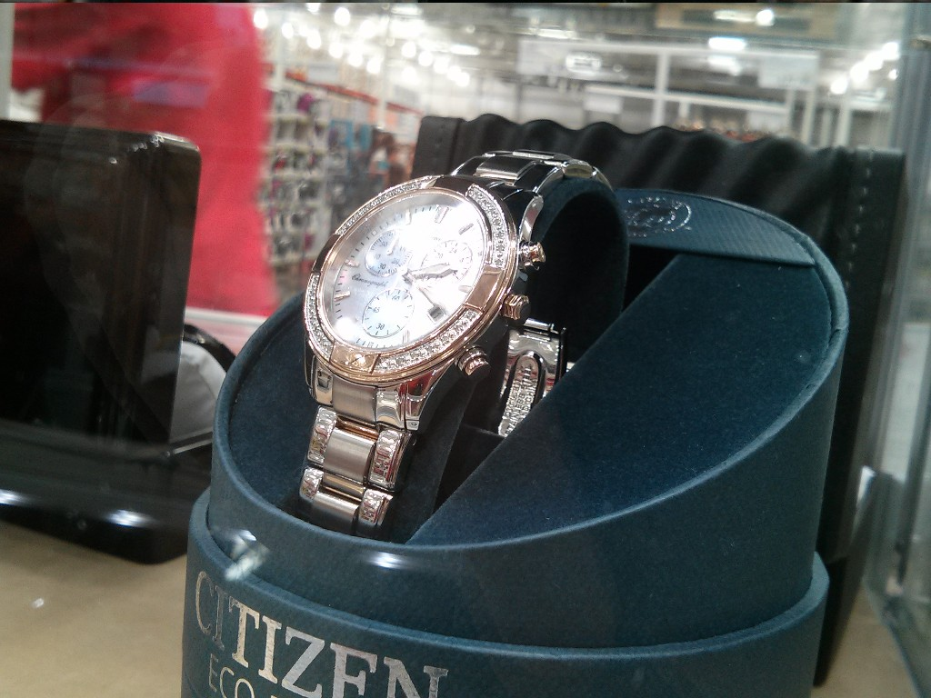 Citizen Ladies Rose Gold Eco Drive Watch