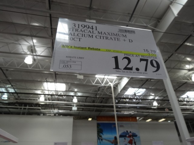 Citracal Maximum with Vitamin D3 Costco