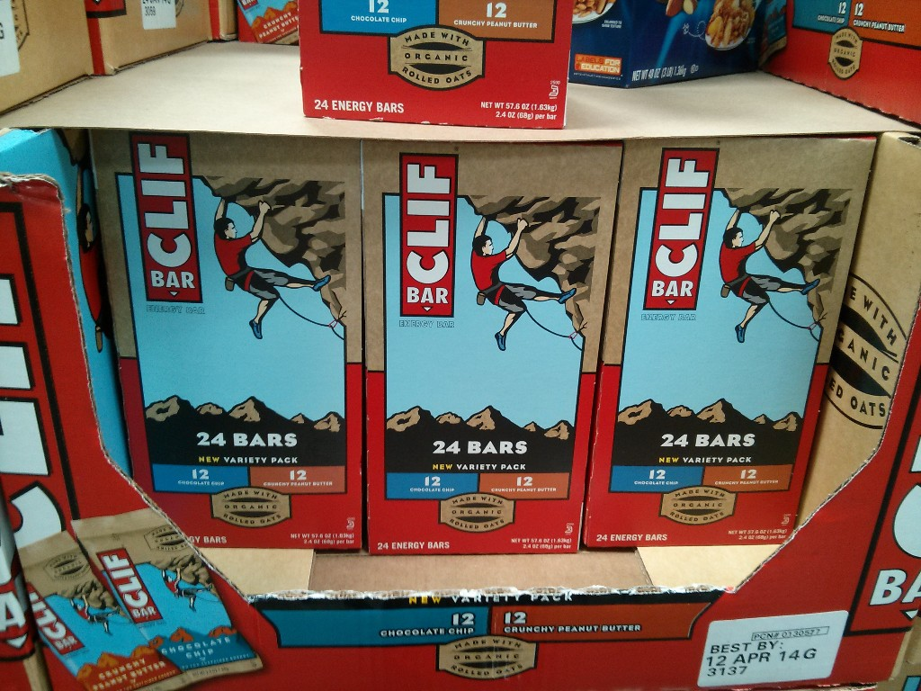 Clif Bars Costco