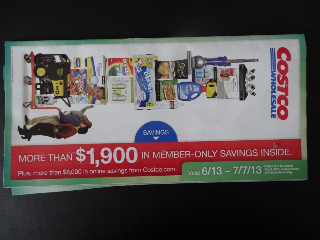 Costco June 2013 coupon book