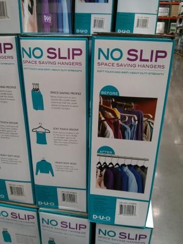 Duo No Slip Hangers Costco