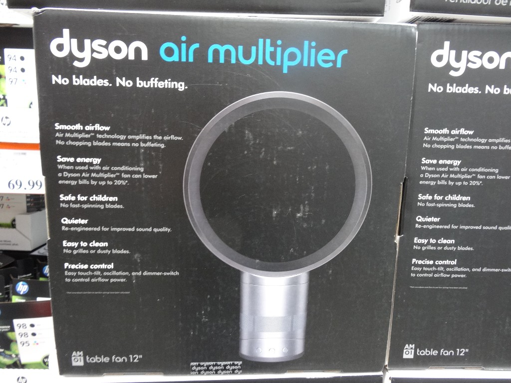 "Dyson 12"" Bladeless Fan Costco"