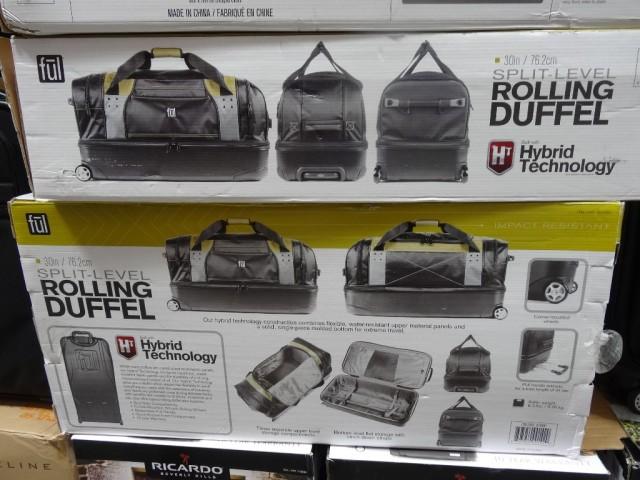 """Ful Hybrid 30"""" Rolling Duffel Costco"""