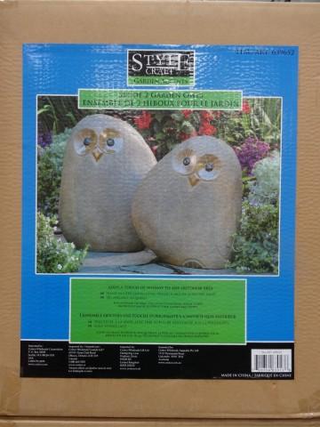Garden Owls Costco