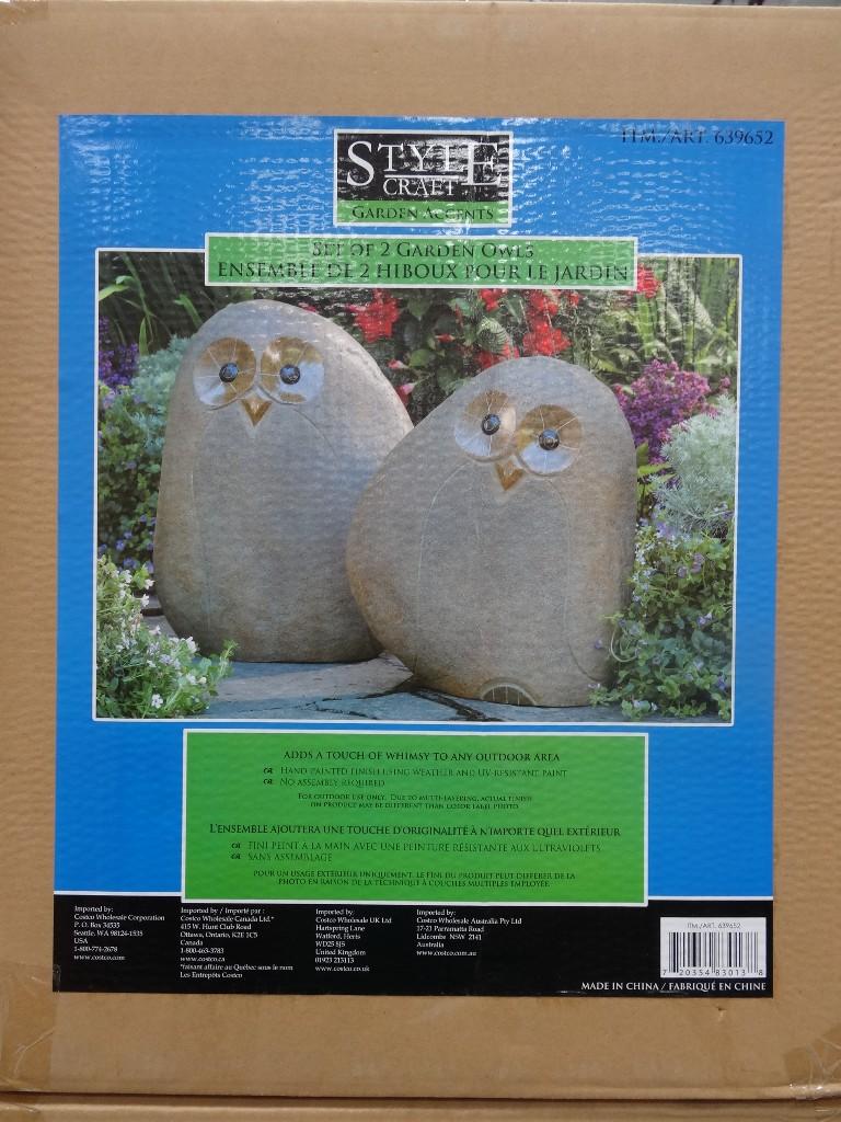 Cute Garden Owls
