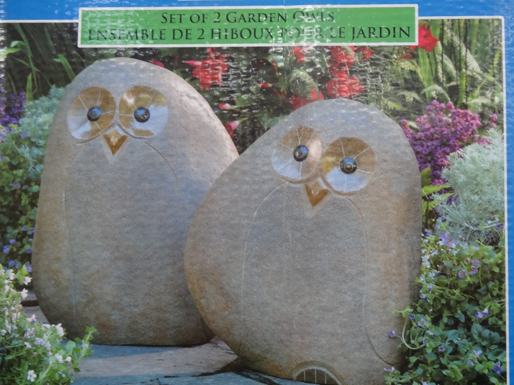 Garden Owls Costco