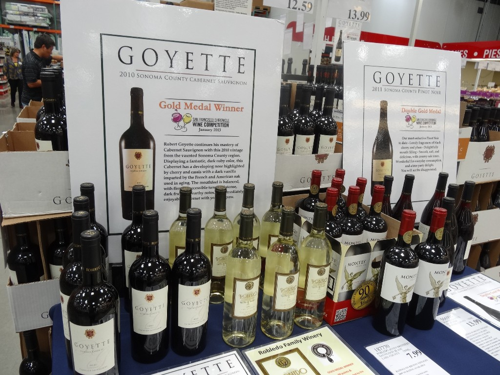 Goyette and Robledo Wine Costco