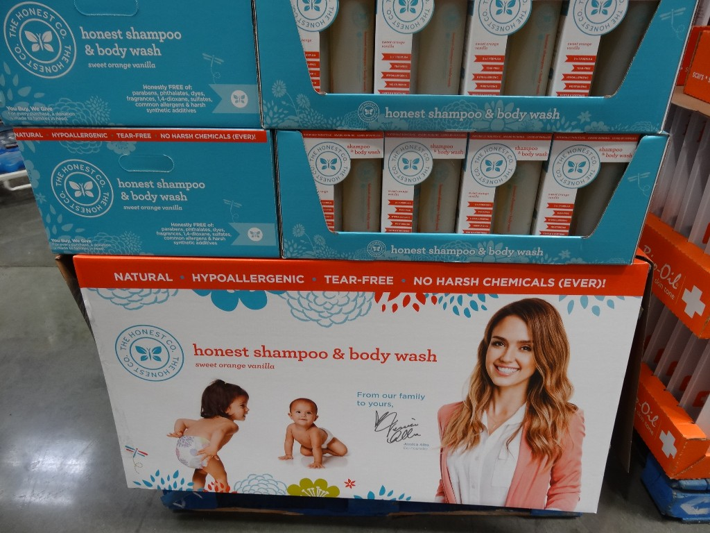 Honest Shampoo and Body Wash Costco