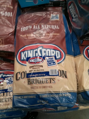 Kingsford All Natural Competition Briquets Costco