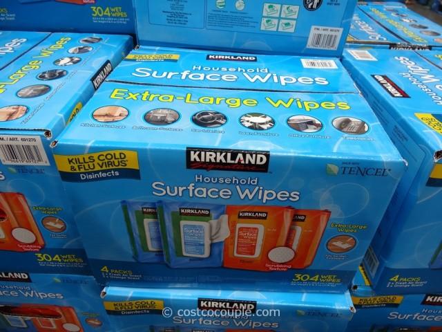 Kirkland Signature Disinfecting Wipes Costco 1
