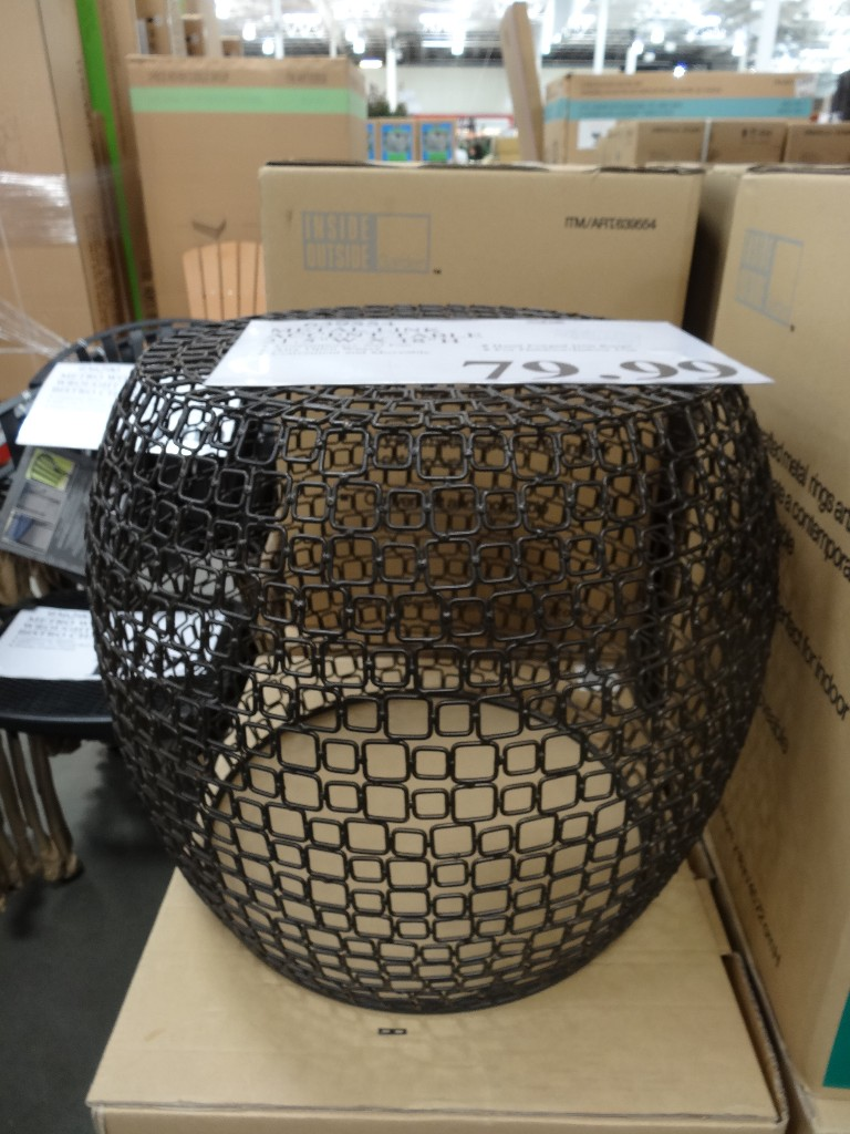 Metal Link Accent Table Patio Accent Table Metal Link Accent Table Costco