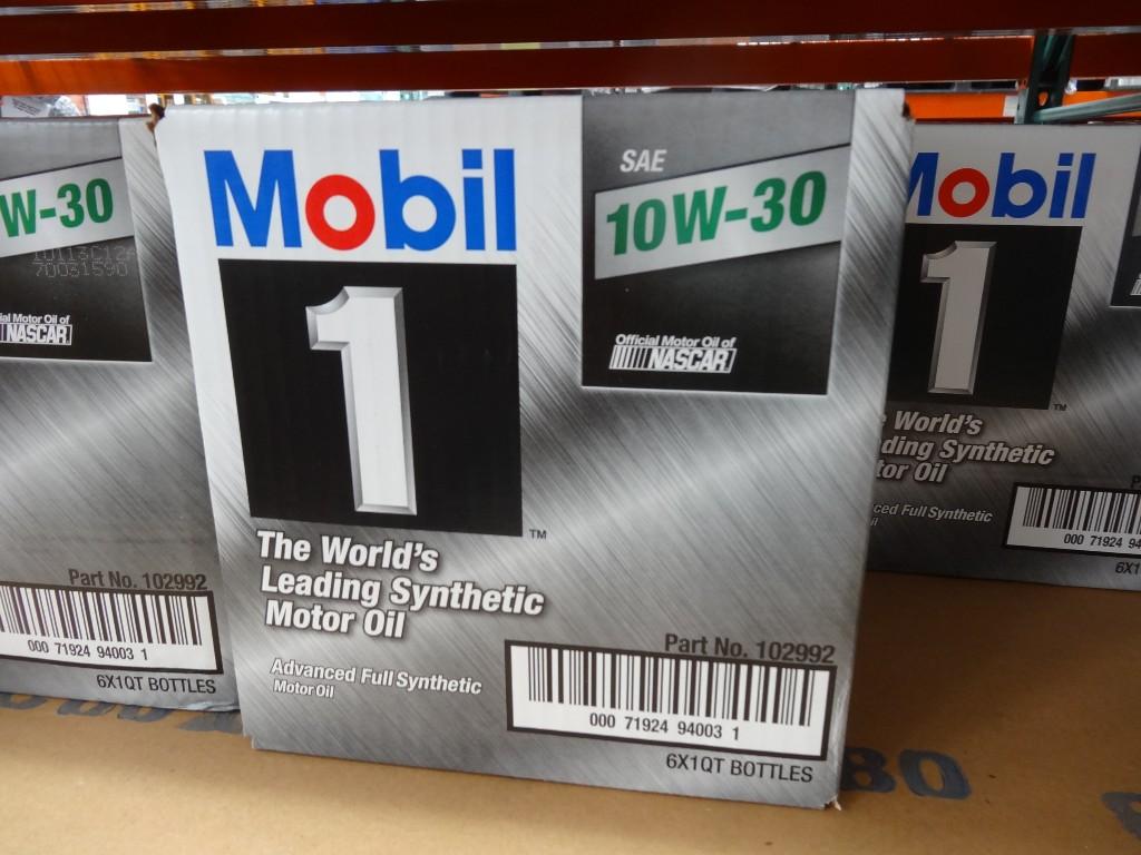 Mobil 1 10W30 Costco