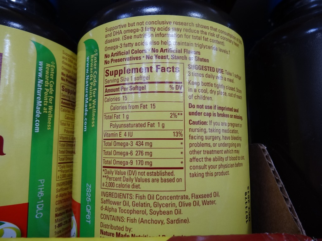 Nature Made Flaxseed Oil Costco