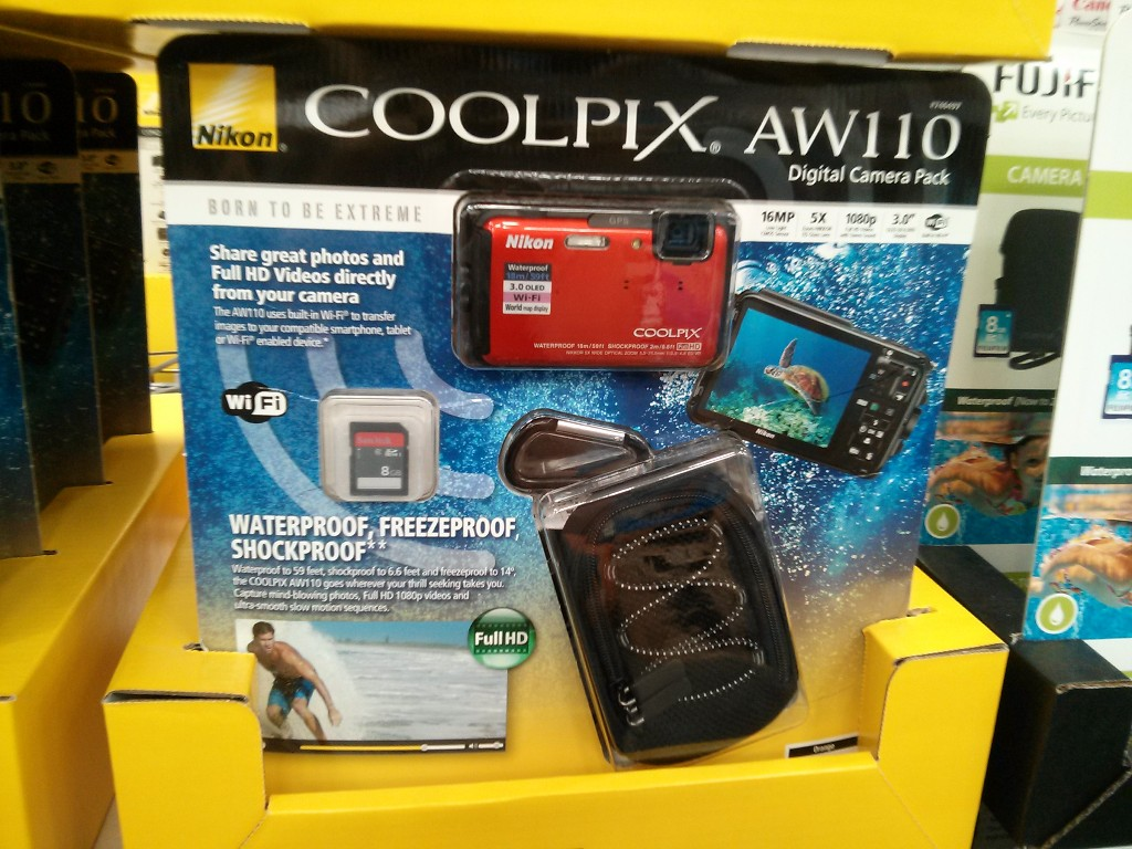 Nikon AW110 Waterproof Camera Costco