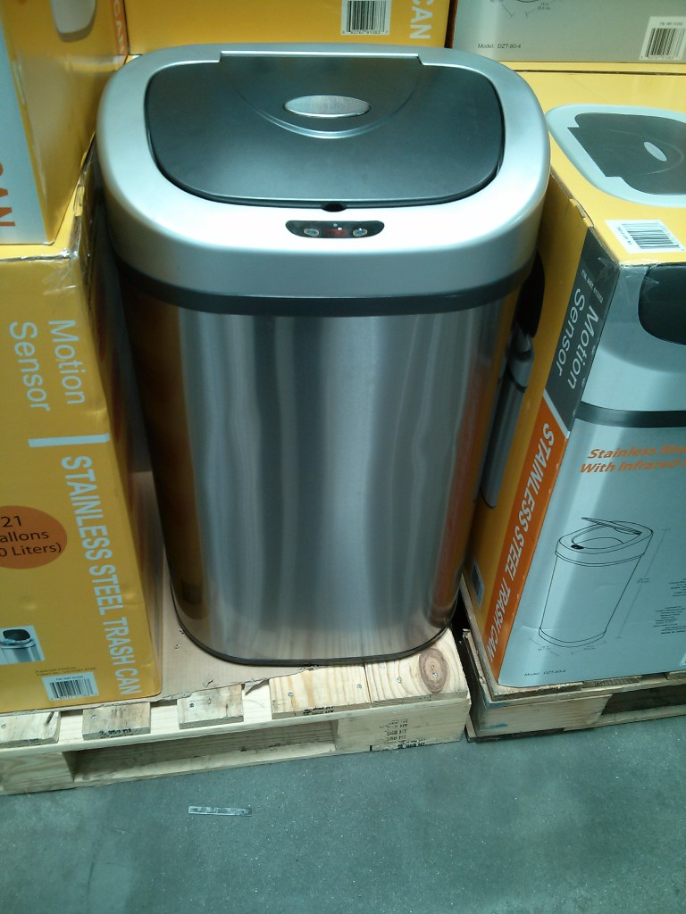 Ninestars Motion Sensor Trash Can Costco