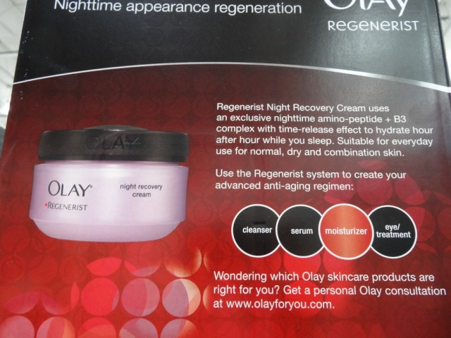 Olay Regenerist Night Recovery Cream Costco