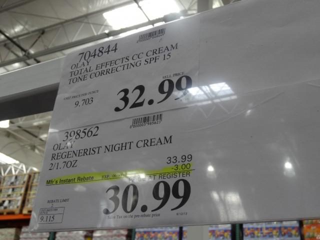 Olay Regenerist Night Recovery Cream Costco