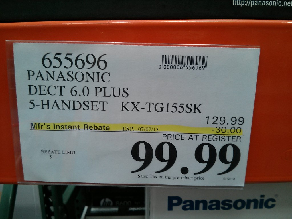 Costco landline phones