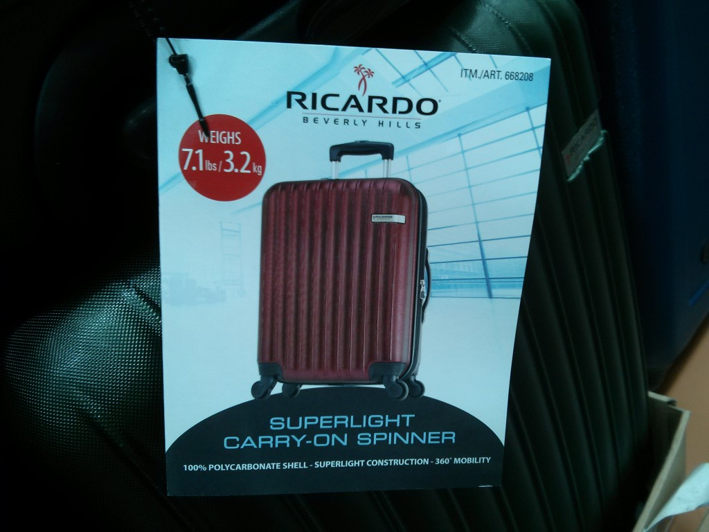 Ricardo carryon spinner costco 1