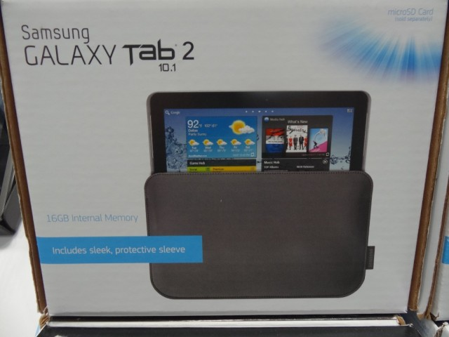 Samsung Galaxy Tab 2 10.1 Costco