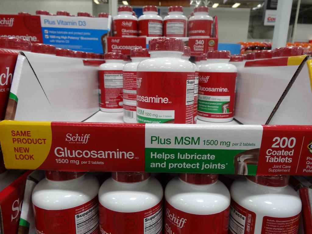 Schiff Glucosamine with MSM Costco