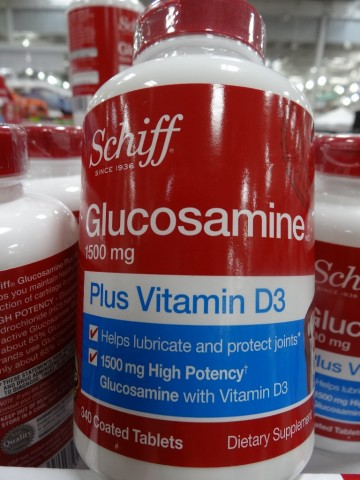 Schiff Glucosamine with Vitamin D3 Costco