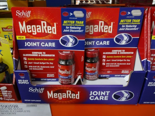 Schiff MegaRed Joint Care Costco