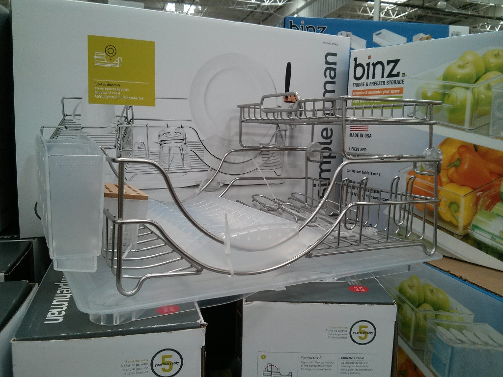 Simple Human Flip-top Dishrack Costco