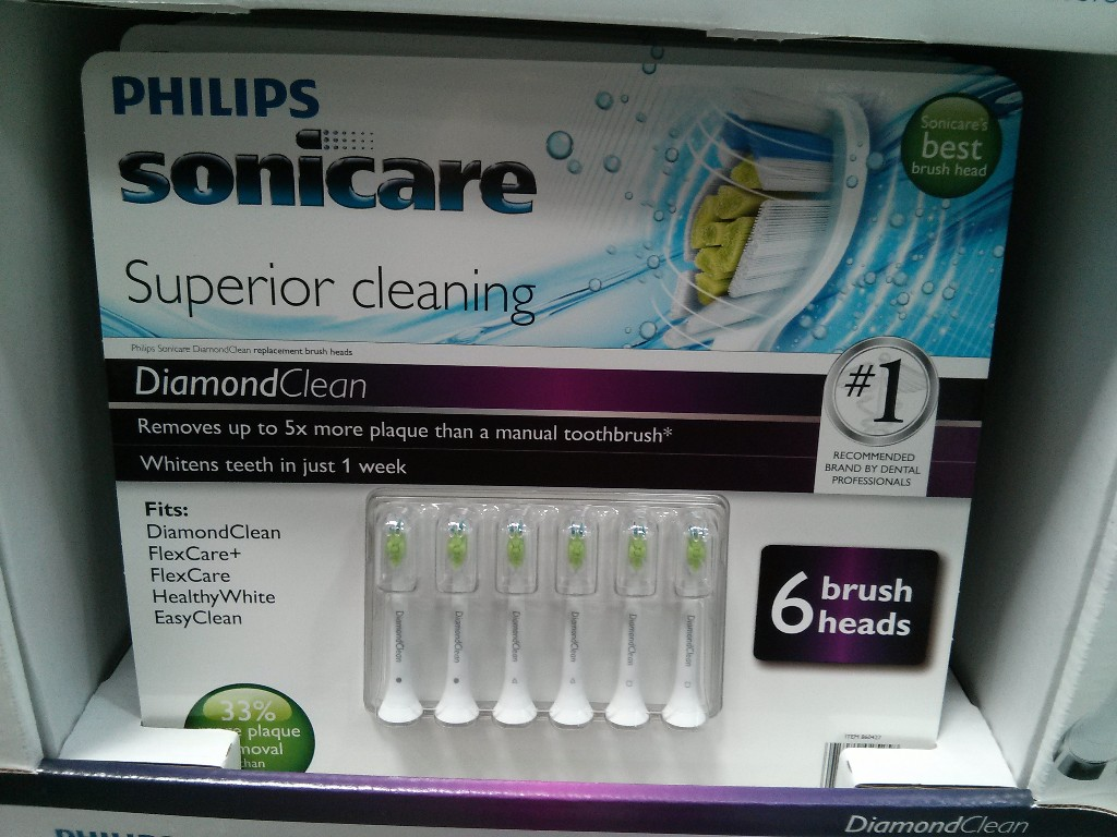 Sonicare Replacement B...E Series Sonic Toothbrush Heads