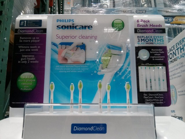 Sonicare Diamond Clean Brush Heads Costco